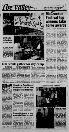 Athens News Courier, June 05, 2005, Page 12