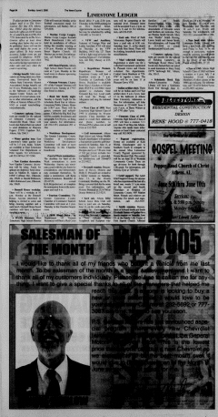 Athens News Courier, June 05, 2005, Page 16