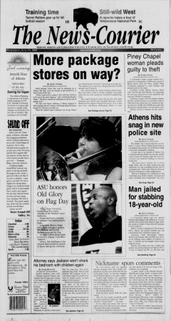 Athens News Courier, June 15, 2005, Page 1