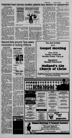 Athens News Courier, June 19, 2005, Page 34