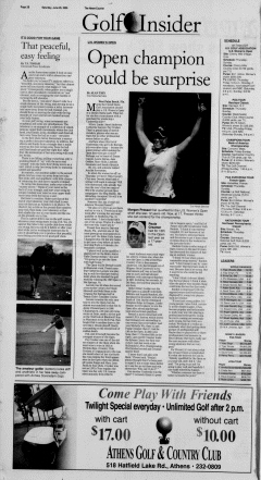 Athens News Courier, June 25, 2005, Page 19