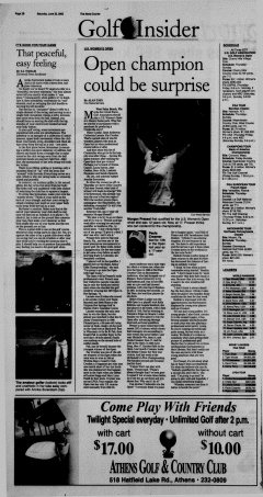 Athens News Courier, June 25, 2005, Page 20