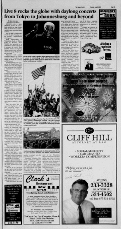 Athens News Courier, July 03, 2005, Page 13