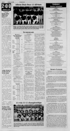 Athens News Courier, July 03, 2005, Page 43