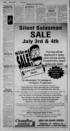 Athens News Courier, July 03, 2005, Page 36