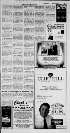 Athens News Courier, July 10, 2005, Page 13