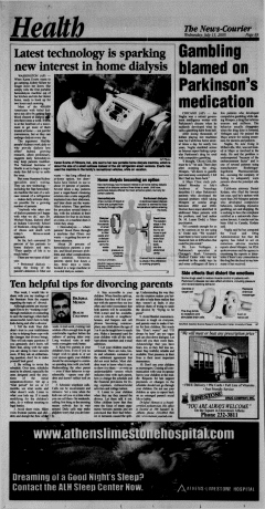 Athens News Courier, July 13, 2005, Page 16
