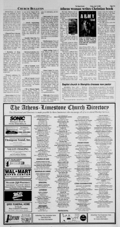 Athens News Courier, July 15, 2005, p. 21
