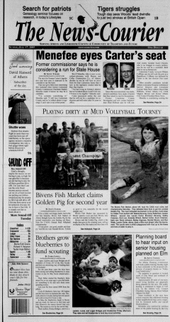 Athens News Courier, July 17, 2005, Page 1