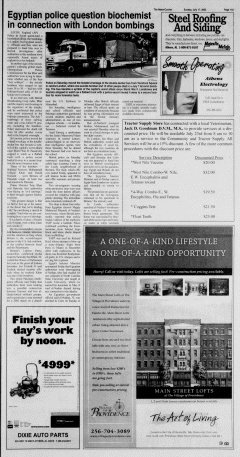 Athens News Courier, July 17, 2005, Page 21