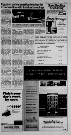 Athens News Courier, July 17, 2005, Page 22