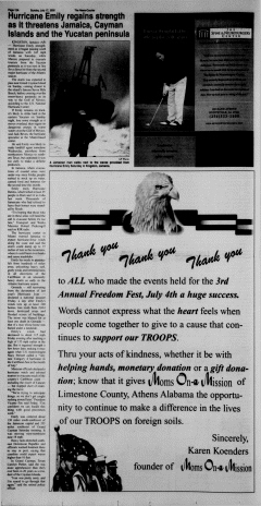 Athens News Courier, July 17, 2005, Page 24
