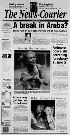 Athens News Courier, July 19, 2005, Page 1