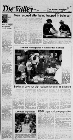 Athens News Courier, July 20, 2005, Page 37