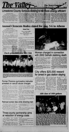 Athens News Courier, July 24, 2005, Page 12