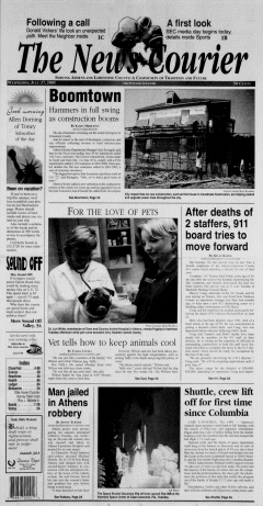 Athens News Courier, July 27, 2005, Page 1