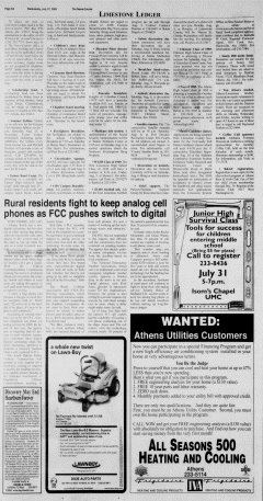 Athens News Courier, July 27, 2005, Page 11