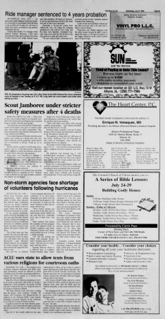 Athens News Courier, July 27, 2005, Page 17