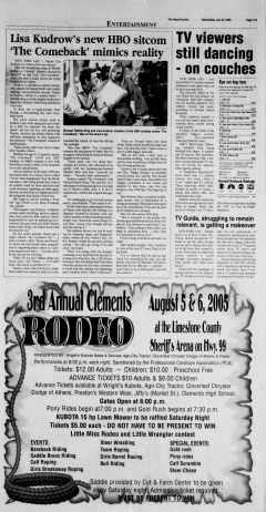 Athens News Courier, July 27, 2005, Page 21