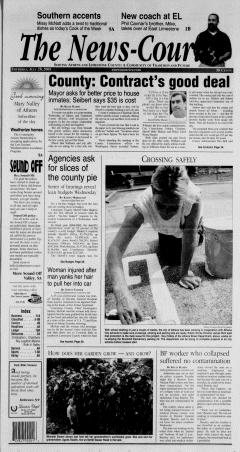 Athens News Courier, July 28, 2005, Page 1