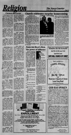 Athens News Courier, July 29, 2005, p. 18