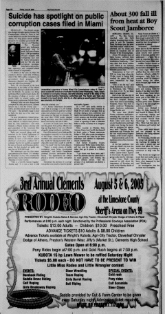 Athens News Courier, July 29, 2005, Page 32