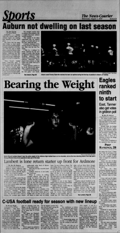 Athens News Courier, August 03, 2005, Page 26