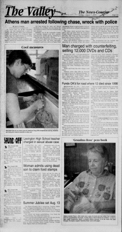 Athens News Courier, August 07, 2005, Page 11