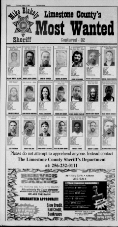 Athens News Courier, August 11, 2005, Page 13