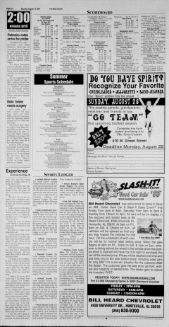 Athens News Courier, August 13, 2005, Page 19