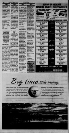 Athens News Courier, August 17, 2005, Page 40