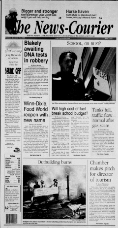 Athens News Courier, August 19, 2005, Page 1