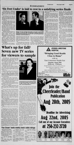 Athens News Courier, August 19, 2005, Page 25