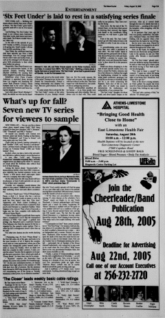 Athens News Courier, August 19, 2005, Page 26