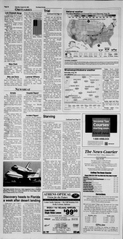 Athens News Courier, August 20, 2005, Page 3