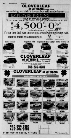 Athens News Courier, August 20, 2005, Page 15