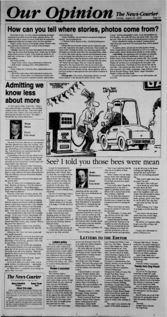 Athens News Courier, August 21, 2005, p. 8