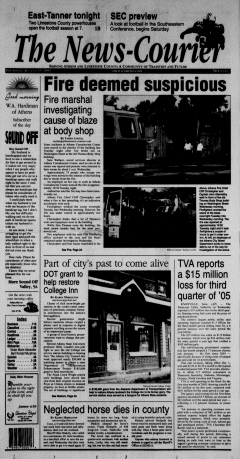 Athens News Courier, August 25, 2005, Page 2