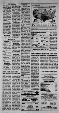 Athens News Courier, August 25, 2005, Page 4