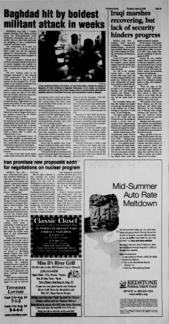 Athens News Courier, August 25, 2005, Page 6