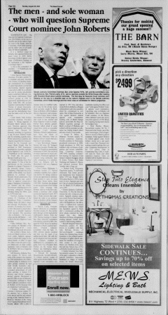 Athens News Courier, August 28, 2005, Page 35