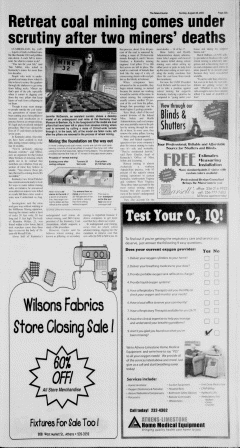 Athens News Courier, August 28, 2005, Page 45