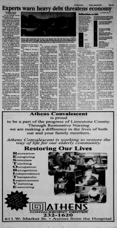 Athens News Courier, August 28, 2005, Page 30