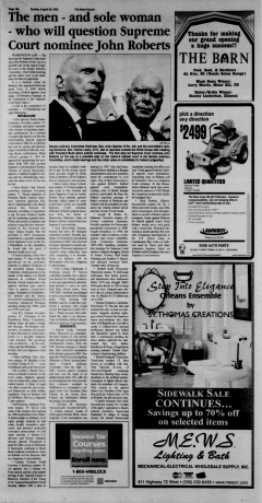 Athens News Courier, August 28, 2005, Page 36