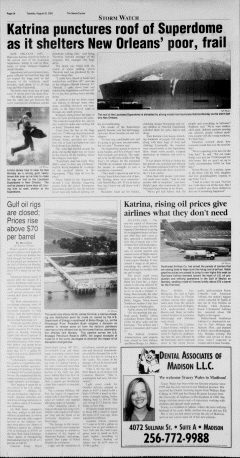 Athens News Courier, August 30, 2005, Page 11