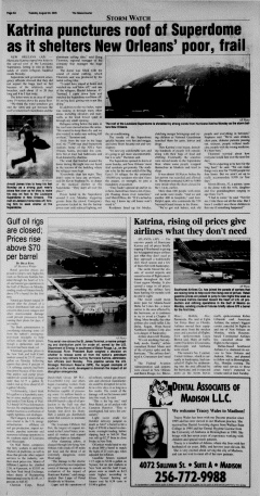 Athens News Courier, August 30, 2005, Page 12