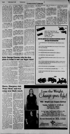 Athens News Courier, August 30, 2005, Page 16