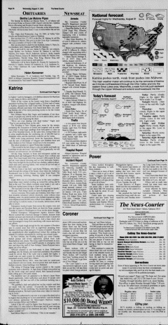 Athens News Courier, August 31, 2005, Page 3