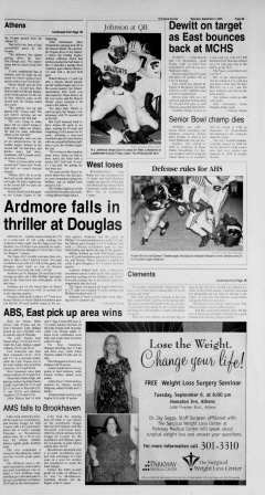 Athens News Courier, September 03, 2005, Page 21