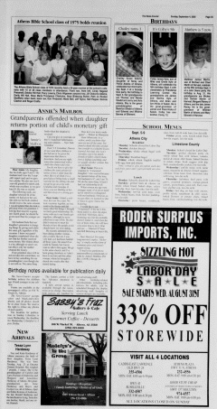 Athens News Courier, September 04, 2005, Page 49